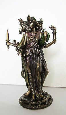 Hekate Goddess of Magic. Pagan / Wiccan Altar Figure