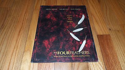 The Four Feathers (2002) Wes Bentley Kate Hudson Heath Ledger (Press Kit)