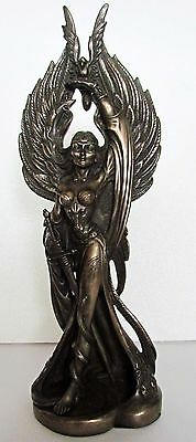 The Morrigan Celtic Battle Goddess. Pagan / Wiccan altar figure
