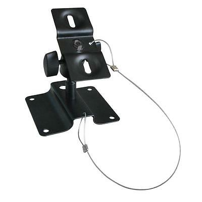 Multi-Universal Speaker Wall & Ceiling Mount Bracket Tilt Swiveling Rotate