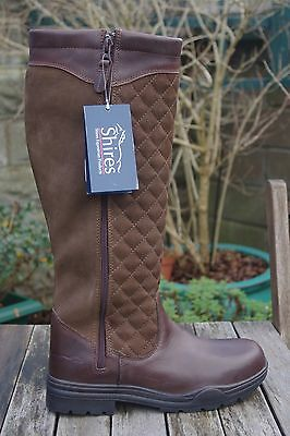 BRAND NEW Shires Quilted Country Boots - Size UK 7