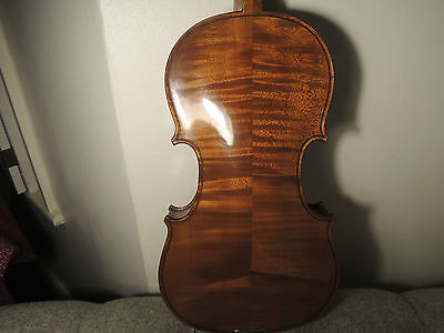 Old French Mirecourt Violin , Labelled.