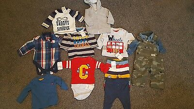 boy bundle 0-3 and 3-6 months joblot new with tags rrp £140 next debenhams MC
