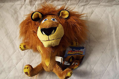 Madagascar Alex the Lion  Big Heads plush with tag