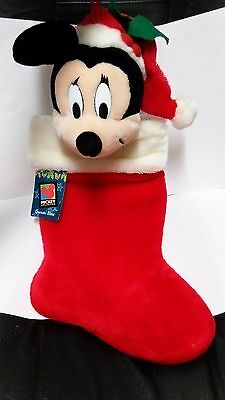 Disney Mickey Unlimited Santa's Best Mickey Mouse Stocking New With Tags! RARE