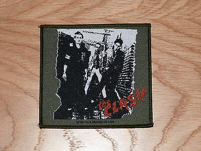 The Clash - 1St Lp (New) Sew On W-Patch Official Band Merchandise