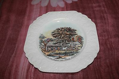 Vintage Lord Nelson Pottery Plate