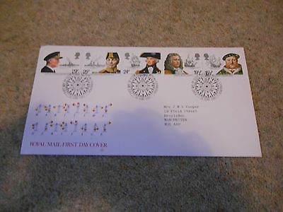 Stamps Great Britain Fdc 1982 Naval Issue.