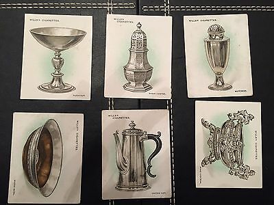 Wills Old Silver 6 Cards