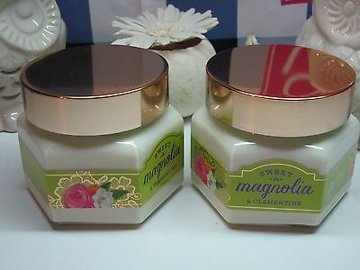 Bath and Body Works (2)~ Sweet Magnolia & Clementine ~ Body Souffle 7.4 oz each
