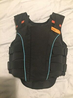 Airowear Junior Outlyne Riding Body Protector Size Y2 Short