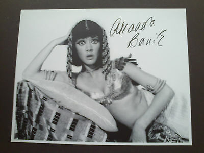 Amanda Barrie Carry On Genuine Signed 10X8 Photograph