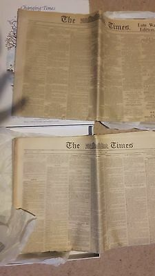 times newspaper 9th June 1917 and 14 April 1923