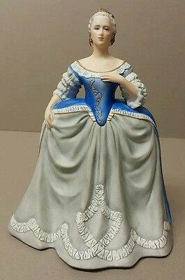 Large FRANKLIN Porcelain 1983 - CATHERINE THE GREAT Limited Edition Figurine