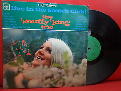 SNUFFY KING TRIO Live In The Scotch Club! RARE MOD JAZZ LP Holland '67 NMINT