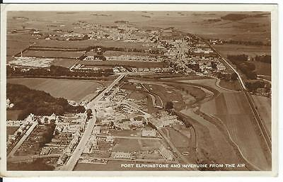 Port Elphinstone And Inverurie From The Air .