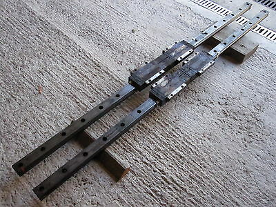 X Axis Linear Rails (Pair) From Hitachi Seiki Hs500 Price Includes Vat