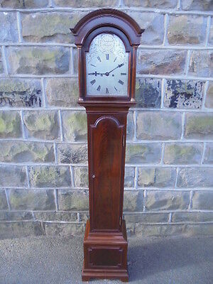 Fine Quality Mahogany Weight Driven Granddaughter Clock