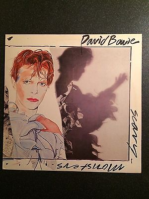 David Bowie - Scary Monsters - UK LP - Classic Rock
