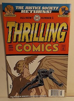 THE JUSTICE SOCIETY RETURNS #1 THRILLING COMICS Comic May 1999 Hawkman & Wildcat