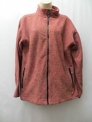 Pink & Black Zipped Front Jacket By Trespass Size 16