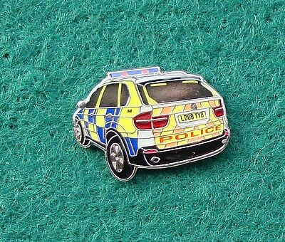 Police Traffic Branch Roads Policing Unit BMW X5 tie tac pin badge .