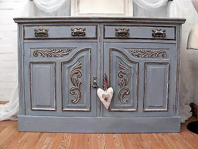 Gorgeous Antique Carved Gilded Sideboard - C1920