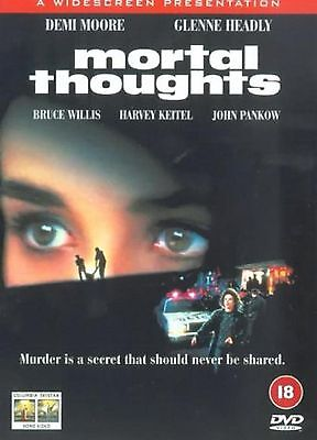 Mortal Thoughts DVD Demi Moore Glenne Headly Alan Rudolph UK Release New Sealed