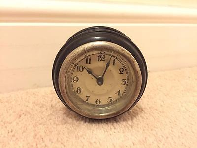 Vintage Bakelite Travel Alarm Clock For Spares Or Repair