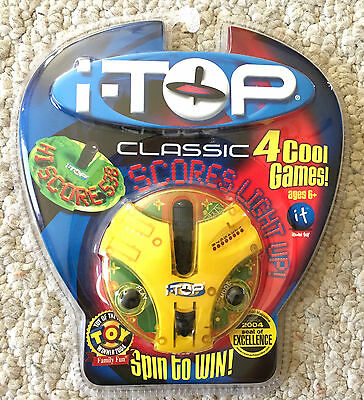 NEW Factory SEALED i-TOP CLASSIC Electronic GAME Spin to Win YELLOW VERSION