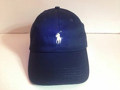 Polo Ralph Lauren Baseball Classic Cap Navy Blue With Small White Pony