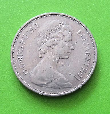 Great Britain 10 New Pence, 1971