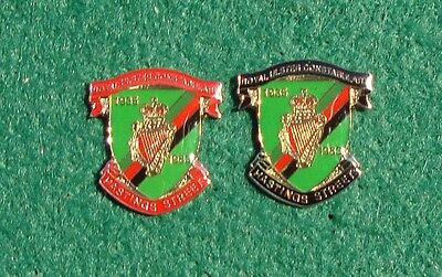 RUC Royal Ulster Constabulary Police HASTINGS STREET tie tac pin badges