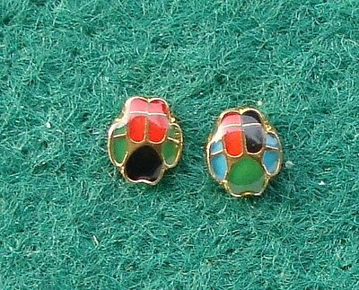Small RUC Royal Ulster Constabulary Police DOG SECTION tie tac pin badges K-9