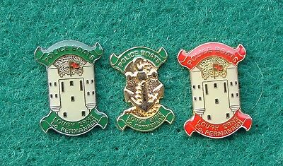 RUC Royal Ulster Constabulary Police LOUGH ERNE FERMANAGH tie tac pin badges