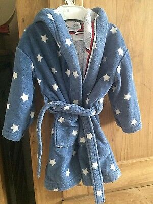 The little white company dressing gown 18-24months