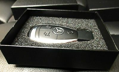 Mercedes Benz Car Key Stile USB Flash Drive 8/16/32/64 Memory Stick Gift Box