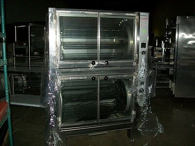 Hickory Industries Double-stack Rotisserie Ovens
