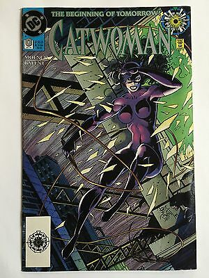 "CATWOMAN #0 (Oct 1994, DC Comics) ""THE BEGINNING OF TOMORROW"" SERIES!!!"