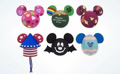 DISNEY PARKS 6 x HOLIDAY ANTENNA TOPPERS, ST PATRICK'S, EASTER, HALLOWEEN & MORE