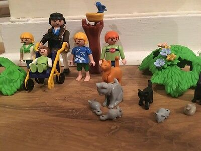 Playmobil Family with animals