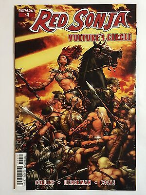 RED SONJA: VULTURE'S CIRCLE #4A (2015, Dynamite) FIRST PRINTING!!! (COVER A)