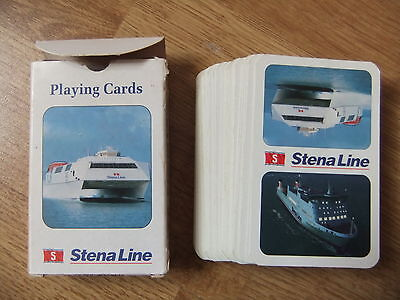 Stena line Stena HSS Explorer Ferry USED Playing cards