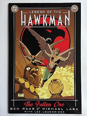 """LEGEND OF THE HAWKMAN: BOOK 1 OF 3 -  #1 (2000, DC Comics) """"THE FALLEN ONE"""" TPB"""