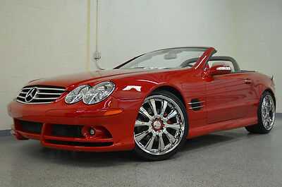 2007 Mercedes-Benz SL-Class Base Convertible 2-Door 2007 Mercedes-Benz SL550 Mars Red/Stone with 14,000 Miles! FAB Design Body Kit!!