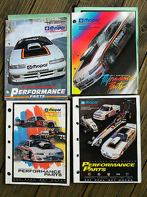 Mopar Performance Parts Dodge Plymouth Catalog Lot Late 90's Nineties