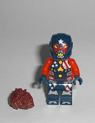 LEGO Super Heroes - Justin Hammer - Figur Minifig Iron Man Detroit Steel 76077