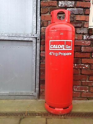 Large 47 kg propane Calor gas bottle Empty