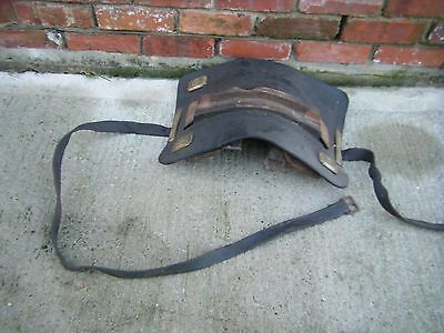Heavy Harness Antique old cart saddle number 4