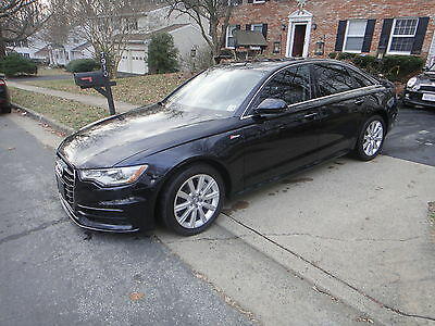 2013 Audi A6 Premium, AWD, only 13k miles Audi A6 supercharged 2013, REBUILT TITLE ON HANDS